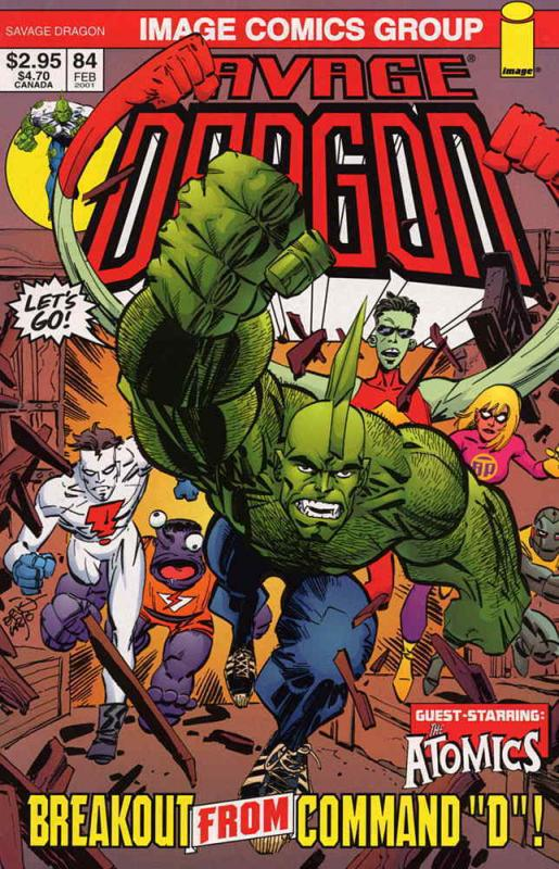 Savage Dragon, The #84 VF/NM; Image | save on shipping - details inside