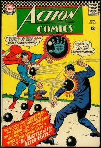 Action Comics #341 1966-Superman- DC Silver Age- Supergirl VF