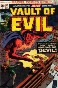 Vault of Evil #15, Fine+ (Stock photo)