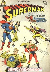 SUPERMAN  (1939 Series)  (DC) #65 Very Good Comics Book