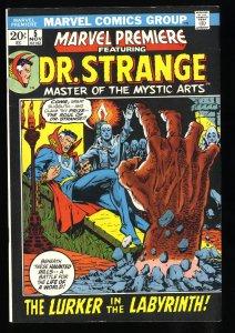 Marvel Premiere #5 VF+ 8.5 Doctor Strange 1st Vishanti Shuma-Gorath!