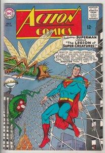 Action Comics #326 (Jul-65) VF/NM+ High-Grade Superman, Supergirl