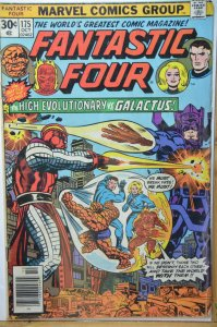 Fantastic Four #175 (1976) High Evolutionary vs Galactus ! Hot !!