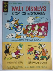WALT DISNEYS COMICS & STORIES 281 VG-F  Feb. 1964 COMICS BOOK