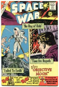 Space War #5 1960- Hitler- Charlton 10 cent comic VF-