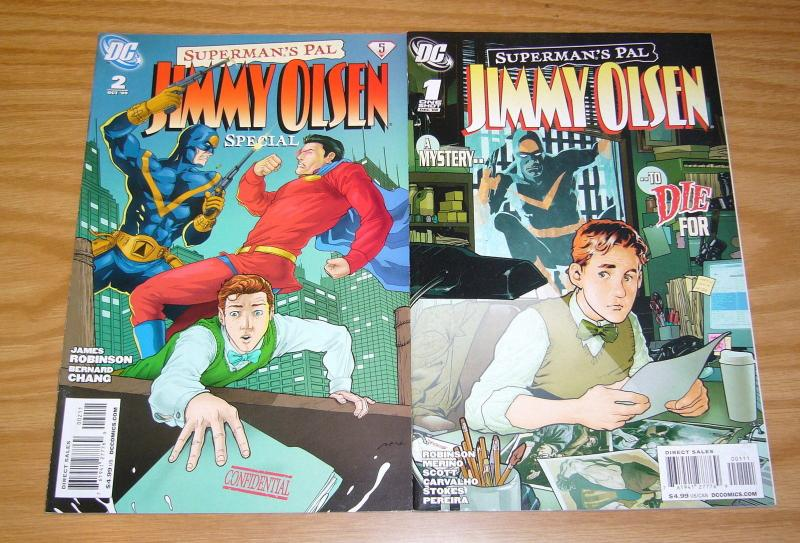 Superman's Pal Jimmy Olsen Special #1-2 VF/NM complete series - james robinson