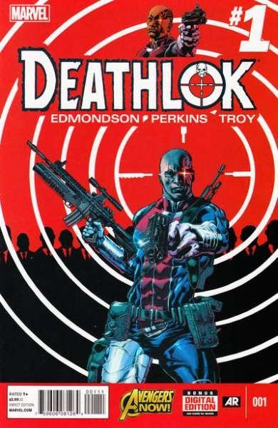 Deathlok (2014 series) #1, NM + (Stock photo)