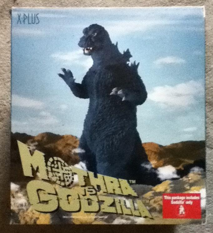 GODZILLA vs Mothra,Japanese KAIJU,Monster,Polyester Resin Figure, X-Plus USA