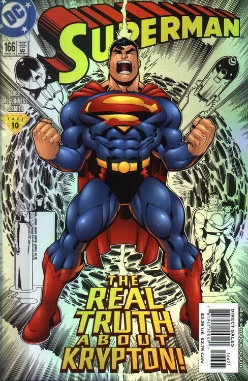 SUPERMAN (1987 DC) #166 NM- A93992