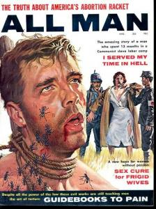 ALL MAN 1961 MAR-INTENSE ANT VIOLENCE CVR-WILD FN