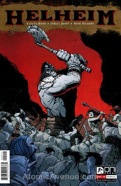 Helheim #2 VF/NM; Oni | combined shipping available - details inside