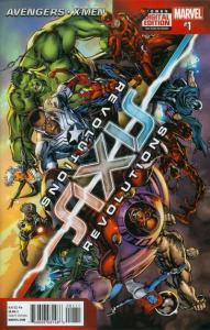 Axis: Revolutions #1, NM + (Stock photo)