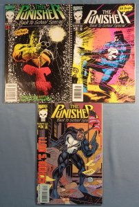 Punisher Back To School Special #1 #2 #3 Complete Series Marvel 1992