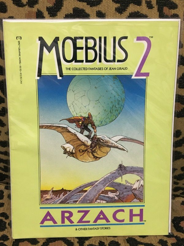 MOEBIUS 2: ARZACH 2nd Printing EPIC GAPHIC NOVEL FINE CONDITION