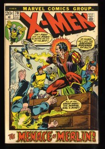 X-Men #78 FN- 5.5 Merlin!