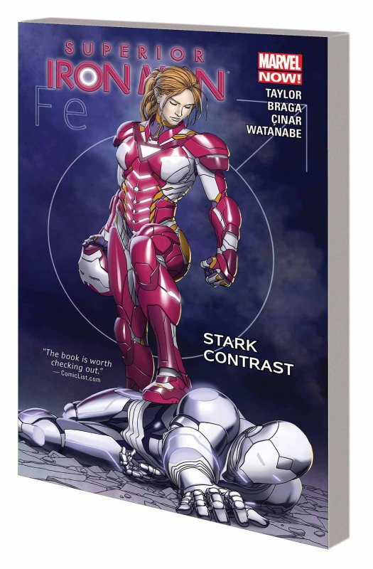 SUPERIOR IRON MAN TP VOL 02 STARK CONTRAST