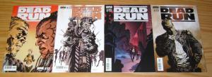 Dead Run #1-4 VF/NM complete series  B variants set   america is a wasteland 2 3