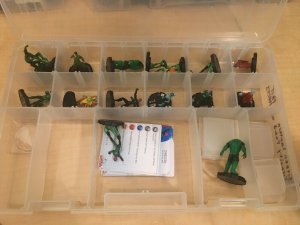 DC Heroclix 16 Figures GREEN LANTERN GRAVITY FEED + Fast Forces Kilowag MFT4
