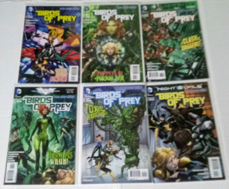 Birds of Prey Comic Book Lot of (6) High Grade Copies  B-5/13