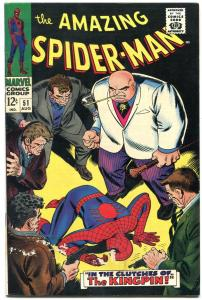 Amazing Spider-man #51 1967- 2nd Kingpin - Marvel comics VG+