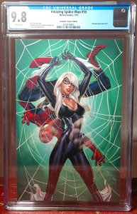 AMAZING SPIDER-MAN, 10D 1:100 Scott Campbell Virgin Variant Cover