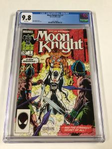 Moon Knight 1 V Vol Volume 2 Cgc 9.8 1985 White Pages Marvel