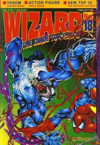Wizard: The Comics Magazine #18 VF/NM; Wizard | save on shipping - details insid