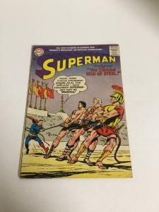 Superman 112 Vg- Very Good- 3.5 Silver Age Bottom Staple Detached