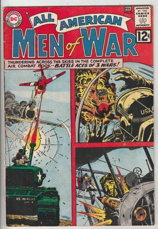 All-American Men of War #95 (Feb-63) FN/VF Mid-High-Grade Johhny Cloud