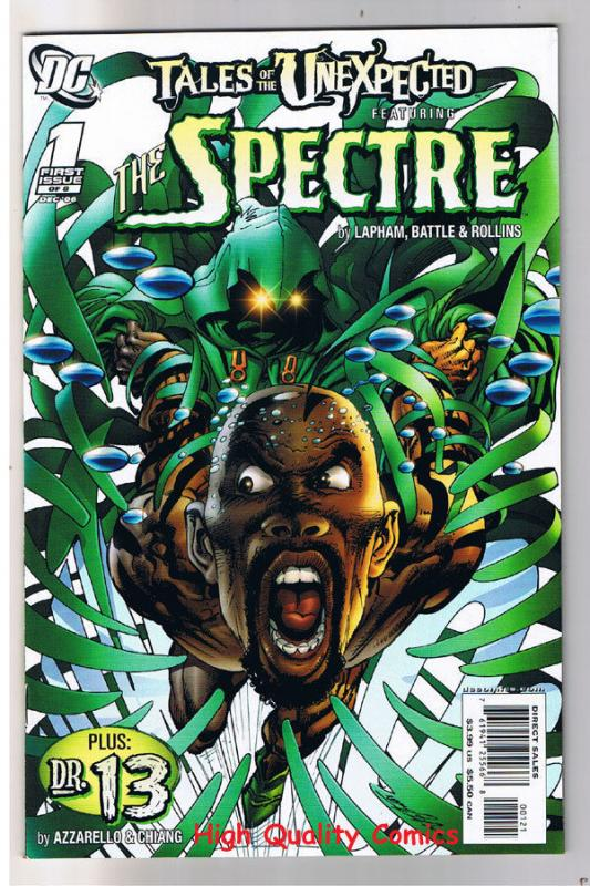 Tales of the UNEXPECTED #1, NM, Variant, Spectre, Lapham, more in store