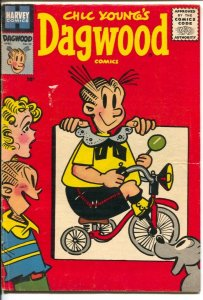 Dagwood #64 1956- Harvey-Chic Young-Blondie-VG