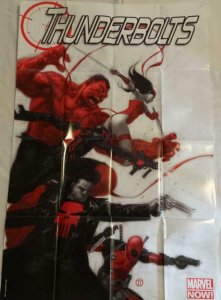 THUNDERBOLTS Promo Poster, 24 x 36, 2012, MARVEL, Unused more in our store 131