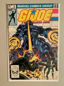 G.I. Joe A Real American Hero #3 Direct Edition 3.0 (1982)
