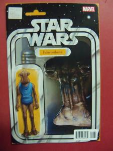 STAR WARS #014 ACTION FIGURE VARIANT  COVER NM 9.4 MARVEL COMICS 2015 SERIES