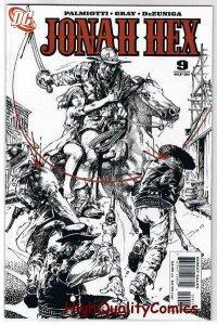 JONAH HEX #9, NM+, Justin Gray, Palmiotti, Sword, 2006, more JH in store