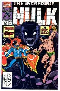 Incredible HULK #371, VF/NM, Grey, Bruce Banner, 1968 1990, Marvel, Dr Strange