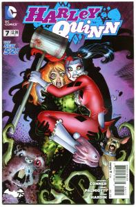 HARLEY QUINN #7, VF+, Amanda Conner, Jimmy Palmiotti, 2014, more HQ in store