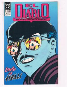 El Diablo #9 VF DC Comics Comic Book Jones May 1990 DE22