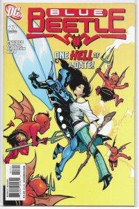 Blue Beetle   (DC vol. 2)   #27 VF