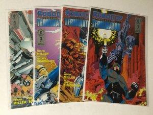 Robocop Versus Terminator 1-4 1 2 3 4 Lot Set Run Vf Very Fine 8.0 Dc