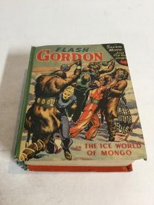 Flash Gordon The Ice World Of Mongo Vf Very Fine 8.0 Big Little Books 1443