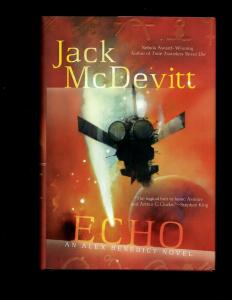 ECHO HARDCOVER Novel Jack McDevitt ACE Book Sci-Fi 2010 J381