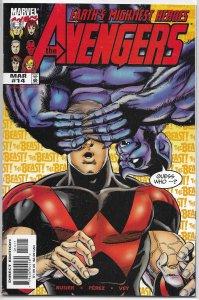 Avengers (vol. 3, 1998) #14 VF Busiek/Perez, Wonder Man/Beast