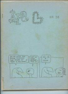 APA-L #36 – Fanzine from the Los Angeles Science Fantasy Society (June, 1965)