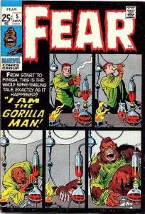 Fear #5, Fine+ (Stock photo)
