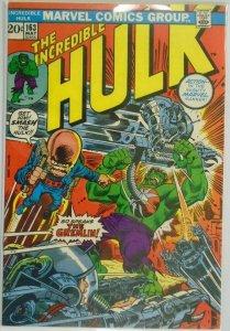 The Incredible Hulk #163 - 5.5 FN- - 1973