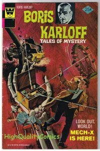 BORIS KARLOFF #66, FN, Tales of Mystery, Gold Key, 1963, more Horror in store