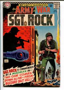 OUR ARMY AT WAR 1#170 1966-WWII-SGT ROCK-vg/fn