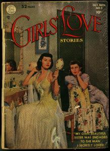Girls Love #2 1949- Photo cover- DC Romance VG