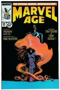 Marvel Age #69 Inhumans | Marc Silvestri (Marvel, 1988) VF/NM